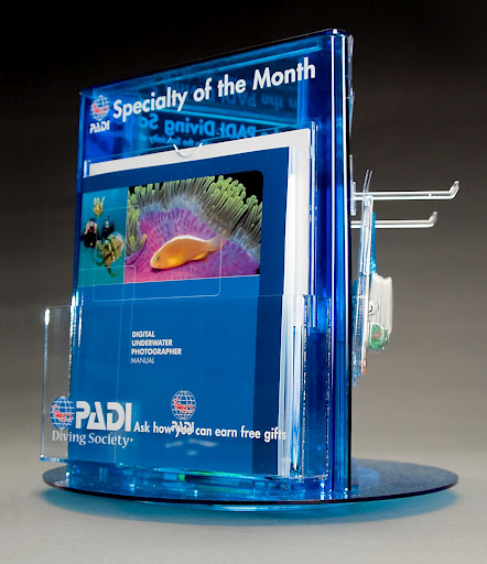 PADI Specialty of the Month Display