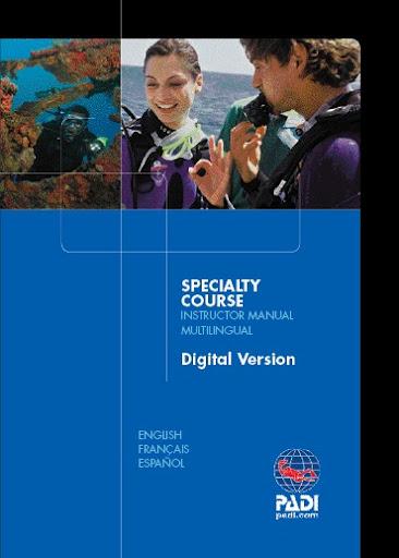PADI Specialty Instructor Manual digital version (CD-ROM)