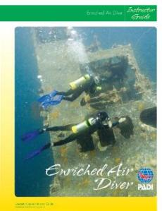 new PADI Enriched Air Instructor Guide product number 70244