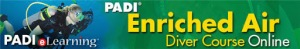PADI Enriched Air eLearning online course