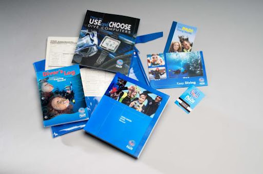 PADI Open Water Diver computer option crewpak