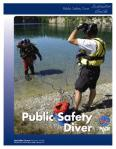 PADI Public Safety Diver Materials Available for Pre-Order