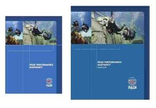 PADI Peak Performance Buoyancy Manual and DVD crewpak part number 60177