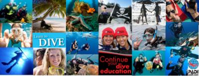 scuba diving Facebook timeline cover photo