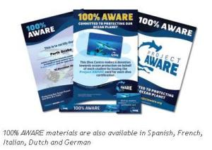 Project AWARE 100% Aware Promotional materials