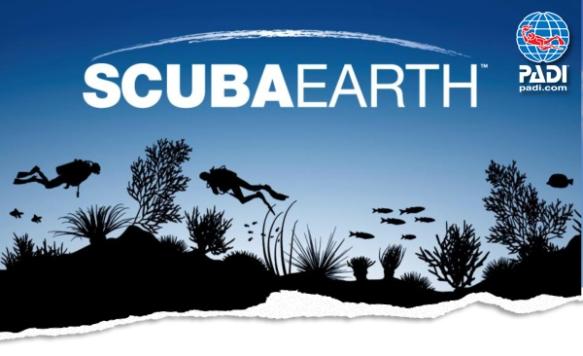 PADI ScubaEarth Logo