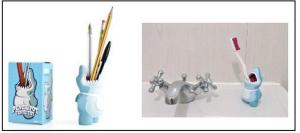 Scuba Diver gift idea: Shark Pencil Holder Toothbrush Holder