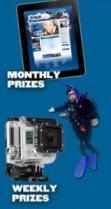 DiveandWin Prizes