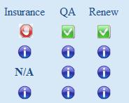 PADI Insurance Red Hand