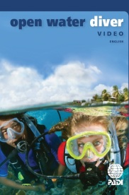 new PADI open water DVD