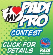 PADI Facebook contest to recognize scuba instructors