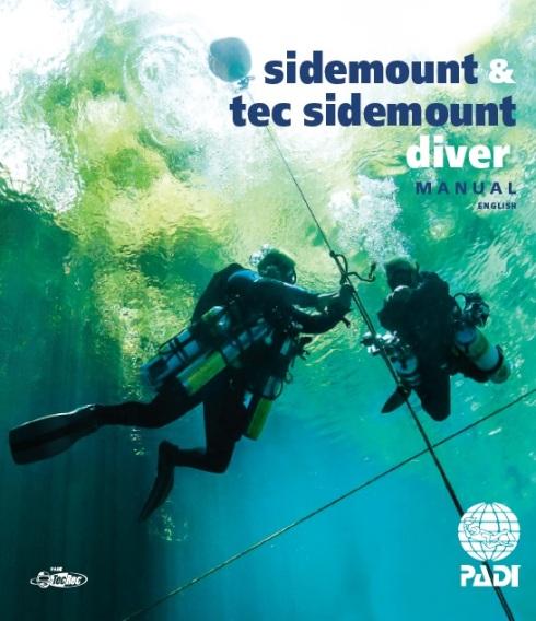 PADI Sidemount Diver manual product no. 70491