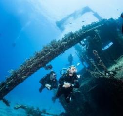 Egypt wreck dive