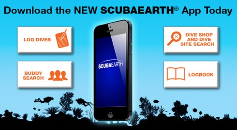 ScubaEarth App for iOS and Android