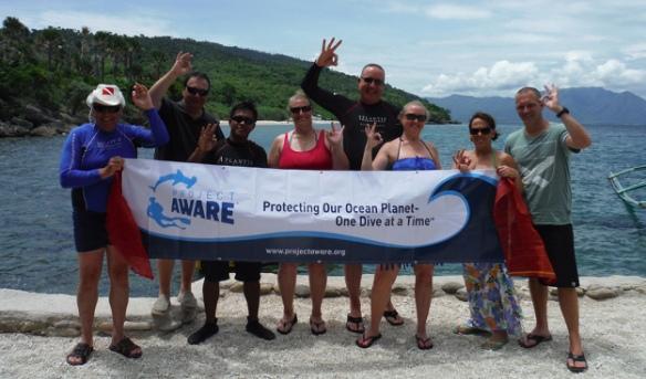 Project AWARE Dive Against Debris Instructor