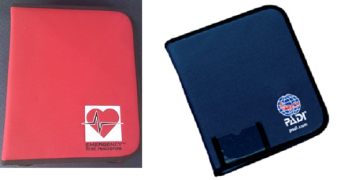 PADI and EFR Deluxe Binders