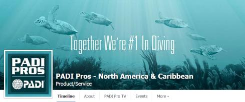 PADI Pros Facebook Page
