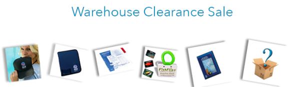 PADI warehouse clearance 2014