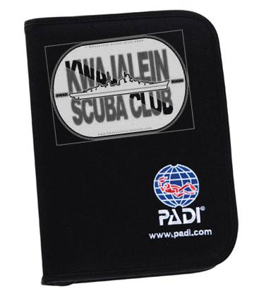PADI custom logbook binder