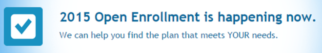 2015 open enrollment