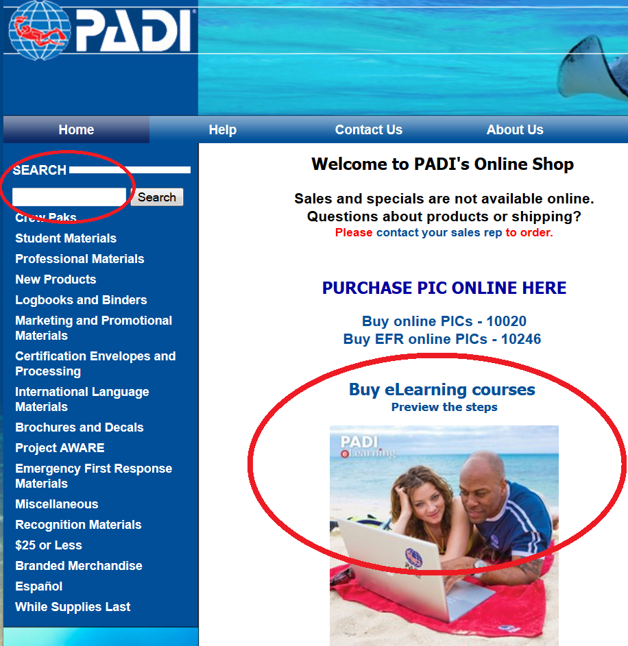 Padi Elearning Archives Padi Pros Europe Middle East And Africa