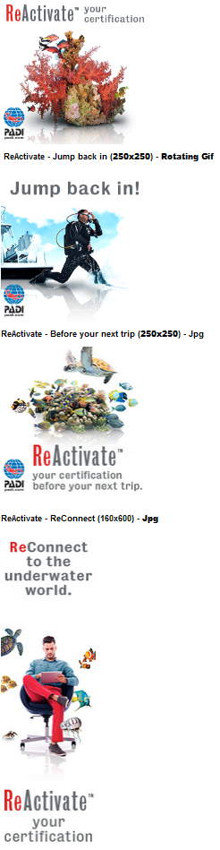 PADI ReActivate images