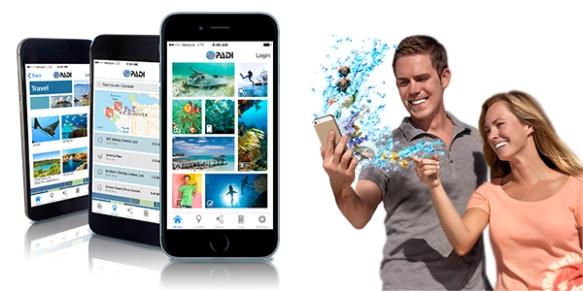 PADI App Image