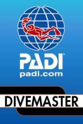 PADI Divemaster sticker