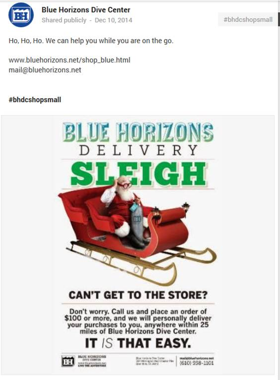 Blue Horizons Holiday Offer