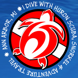 I dive with Huron Scuba