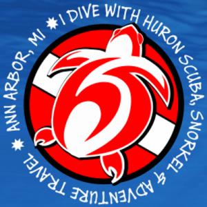 I dive with Huron Scuba
