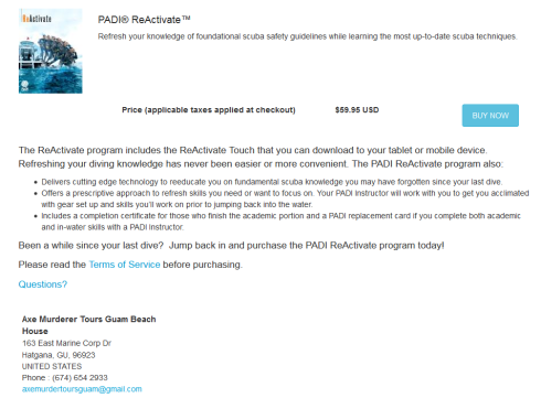 How to set up PADI store affiliation ReActivate