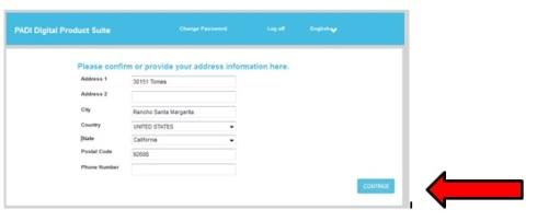PADI-online-registration-part3