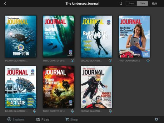 Undersea Journal on Vimeo