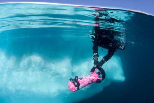 Susan_snorkeling_packice-e1461867945271