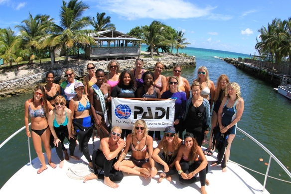 Stuart Cove's PADI Womens Dive Day 2016