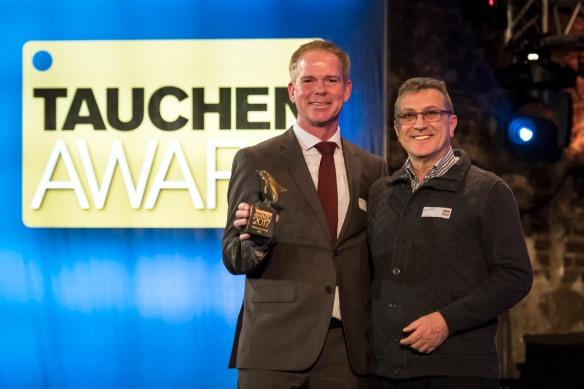 PADI Wins the Tauchen Award 2017