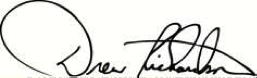 Drew Signature