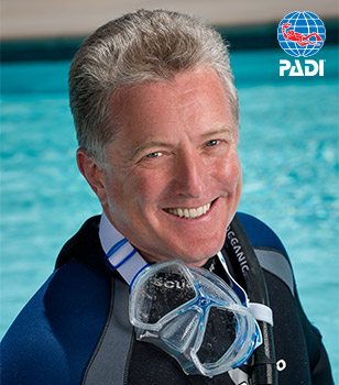 PADI President and CEO