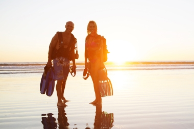 Couple on an adventure