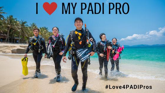 I Heart PADI Pro B2B Blog Graphic