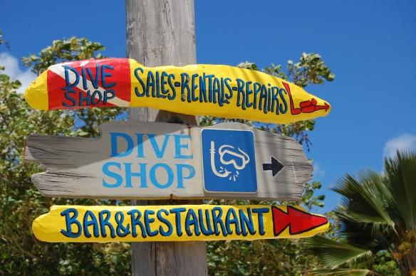 dive shop owner